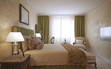 Master bedroom english design