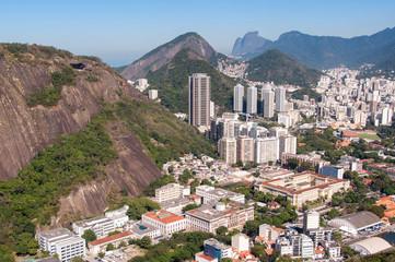 View of Rio de Janeiro from Urca Mountain