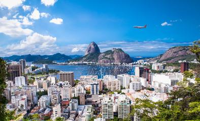 Rio De Janeiro and Sugar Loaf, Brazil . Fototapete