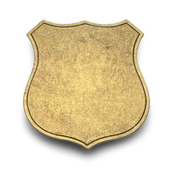 Blank Shield Law Badge