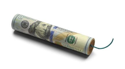 US Money Dynamite Bomb