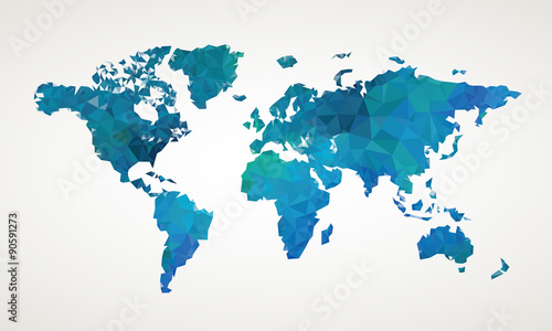 World map vector abstract illustration pattern stock image and world map vector abstract illustration pattern gumiabroncs Gallery