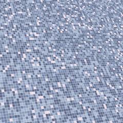 Slanted grid of squares