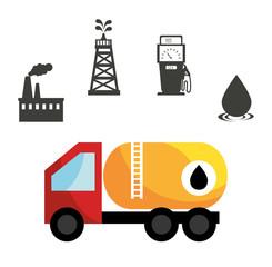 Petroleum industry design.