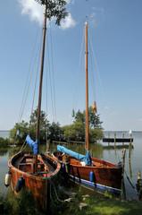 Boote am Steinhuder <Meer