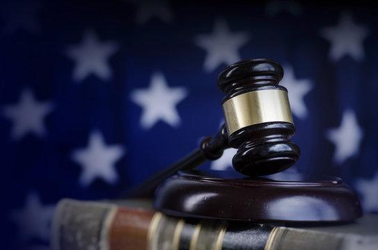 US Legal Law Concept Image