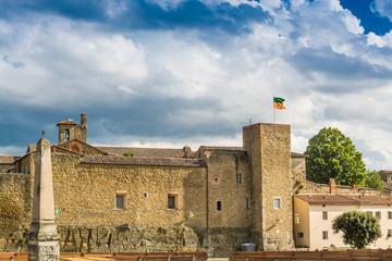 Le antiche mura di Castiglion Fiorentino