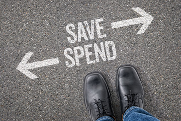 Decision at a crossroad - Save or Spend