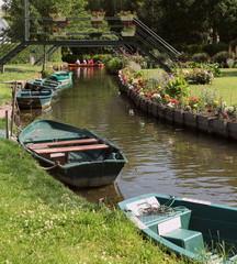 Visite des hortillonnages: Amiens.