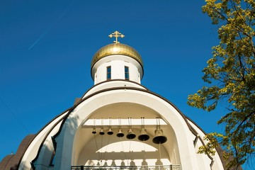 The Church, the Orthodox church and bells, a historic monument, a tourist destination, established in Rostov - on - Don on Large Garden street.