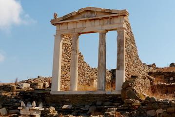 Délos, Temple d'Isis