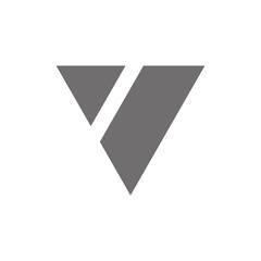 Letter V Logo Concept Icon. Vector