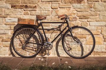 In de dag Fiets Vintage bike