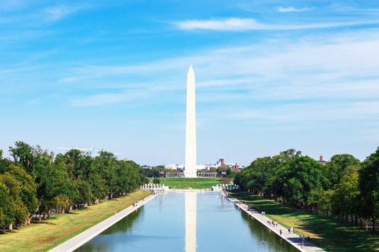 Washington Monument in Washington DC, United States