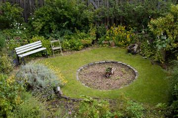 old british garden