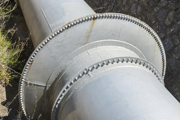 Large water pipes