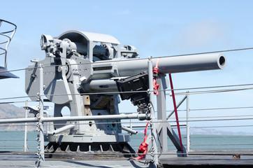 World War II Submarine Battleship Guns