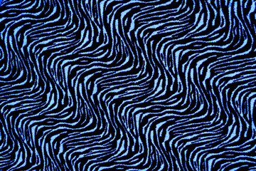 texture of fabric stripes tiger for background