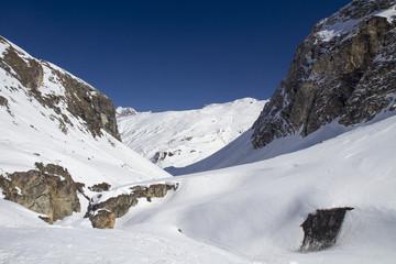 Off-Pist-Ski-Tour Tignes Backcountry