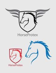 Horse Head Logo, art vector design