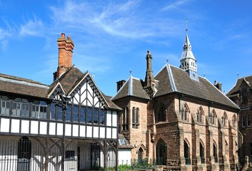 St Mary Priory Garden buildings, Coventry.