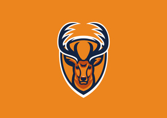 deer head sport mascot