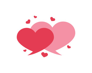Dating Logo, Love Chat