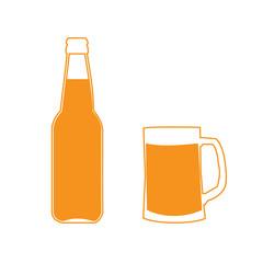 Icon bottles and mugs