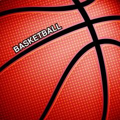 Basketball ball background, vector