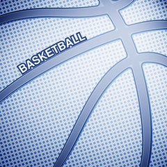 Basketball ball background, vector