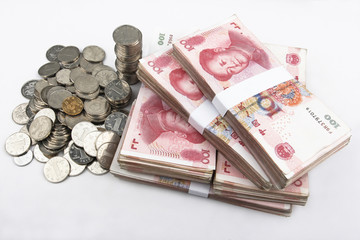 Chinese money (RMB).
