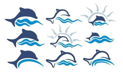 Logos dolphin.