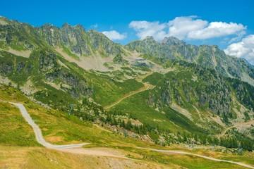 Wall Mural - Chamonix Alpine Trails