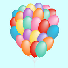 a cloud of balloons gift