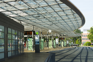 Busbahnhof in Herne, nrw, Deutschland