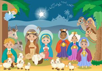 Il Presepe dei Bambini - Nativity Scene