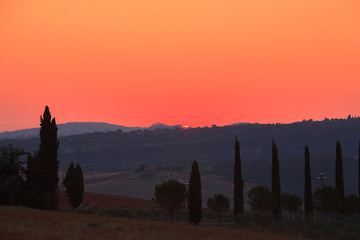 Alba in Toscana