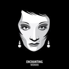 Enchanting woman