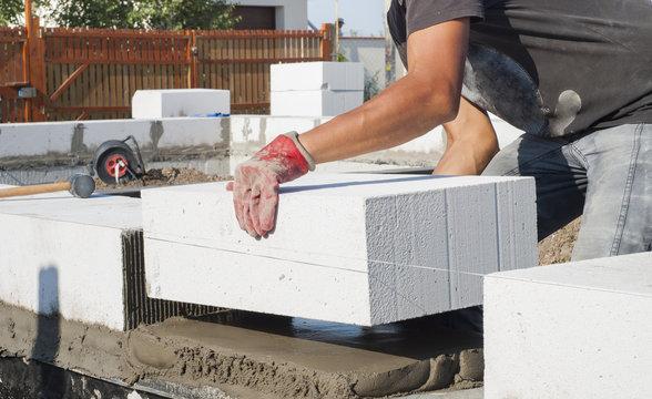 aerated concrete masonry