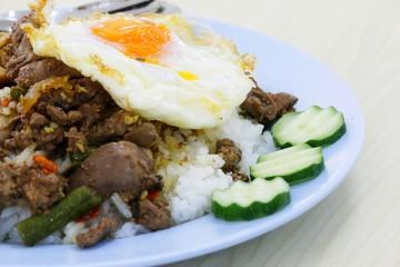 thai food and thai dessert
