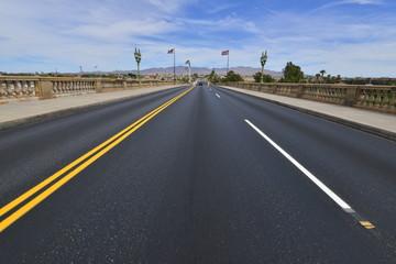 London Bridge at Lake Havasu in Arizona, America.