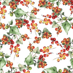Red currant pattern