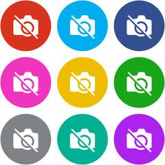 Flat Multicolor App Icon
