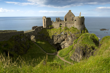 Dunluce Castle, Antrim, Northern Ireland.