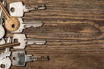 Different keys