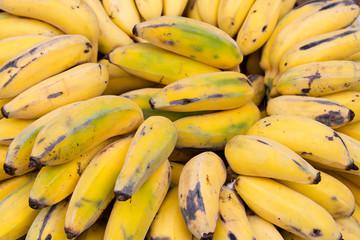 Fototapete - Madeira bananas. Funchal, Portugal