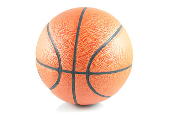 Ball for game in basketball
