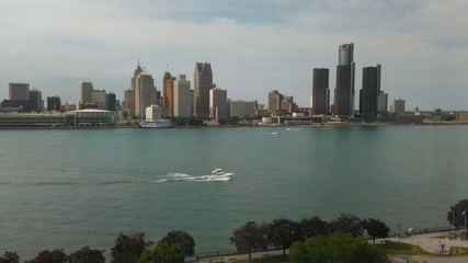 View of Detroit from Windsor
