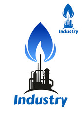 Oil and gas industry factory