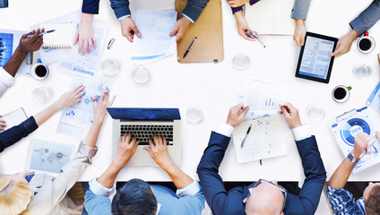Diverse Business People Meeting Teamwork Concept